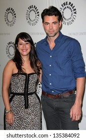 Kimberly McCullough, Jason Thompson at General Hospital: Celebrating 50 Years and Looking Forward, Paley Center for Media, Beverly Hills, CA 04-12-13