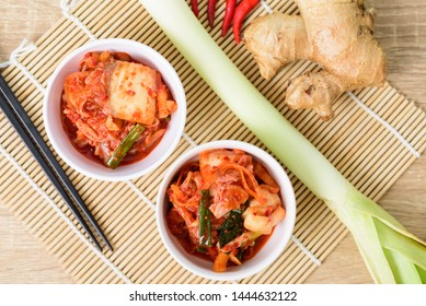 Kimchi Top View Stock Photos Images Photography Shutterstock