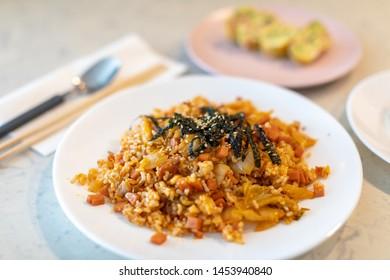 Kimchi fried rice, Homemade Korean food