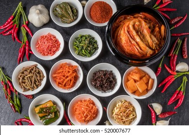 Kimchi and Korean food
