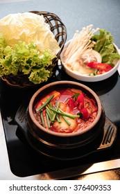Kimchi Soup - Kimchi Chigae, Korean Cuisine