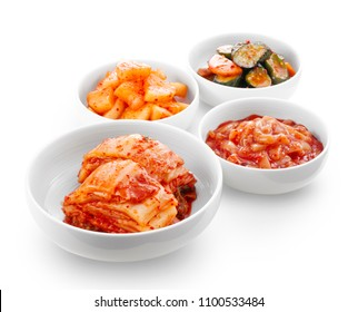 Kimchi(Chinese cabbage, radish, cucumber)