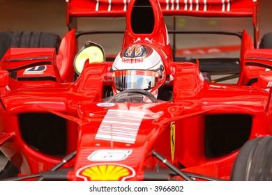 Kimi Raikkonen, Ferrari Formula One 2007 in action