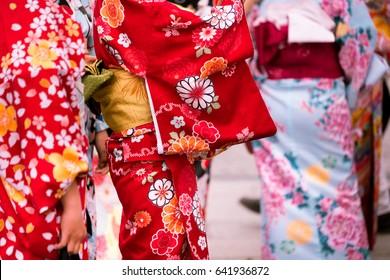 Kimono - A Japanese Traditional Garment