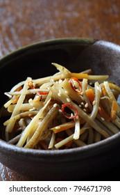 Kimpira gobo, Kinpira burdock