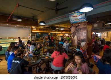KINABALU,MALAYSIA - 7 May 2017: Fook Yuen is a famous coffee shop and restaurant originates from Kota Kinabalu, Sabah .
