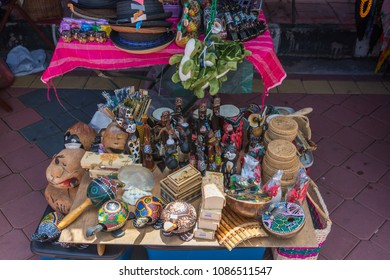 KINABALU,MALAYSIA - 7 May 2017: Sunday Market at Gaya street is famous for local people and tourist. Various kind of goods you can find here.