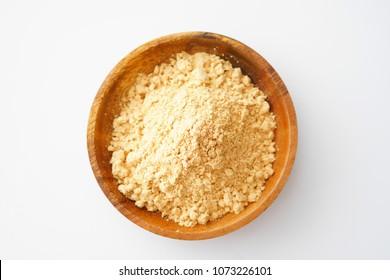 Kinako, Toasted soybean flour.