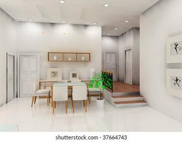 a kind of  kitchen design