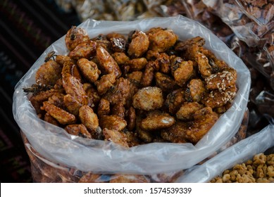 """""""garapiñado"""" Is a kind of typical candy, can be made from any nuts, dried fruit or seed, adding sugar and essences, usually vanilla"""
