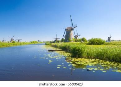 Kinderdijk windmills 1