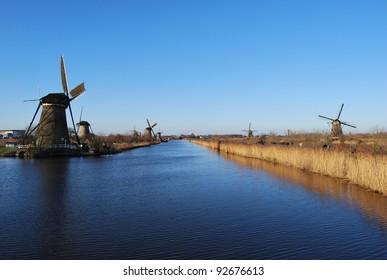 Kinderdijk Windmills in The Netherland
