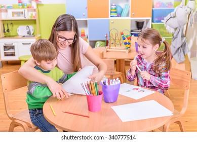 Kindergarten Arts & Crafts Activities