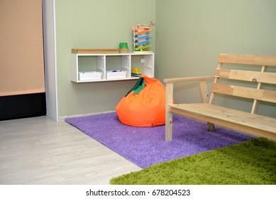 Kindergarten room interior