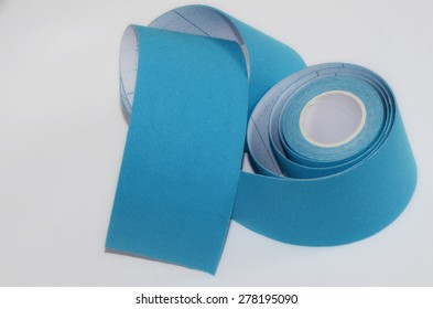Kinesiology tape. Insulation.