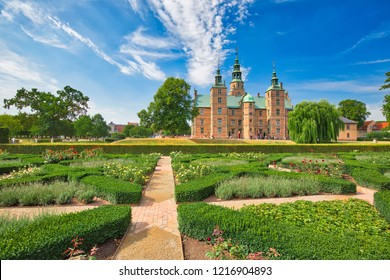 King Garden, the oldest and most visited park in Copenhagen, Denmark-located near Rosenborg Palace