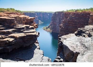 King George River Gorge, Kimberley, Australia