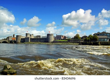 King Johns Castle Limerick City Ireland