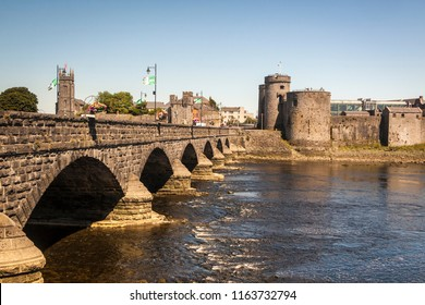 King John's Castle and Thomond Bridge, LImerick
