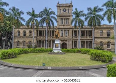 King Kamehameha Oahu, Hawaii