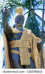 King Kamehameha Statue in Honolulu Hawaii