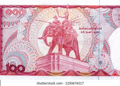 King Naresuan the Great. The beloved of the people Thai on 100 Baht. Thailand money. Thailand Baht is the national currency of Thailand. Close Up UNC Uncirculated - Collection.