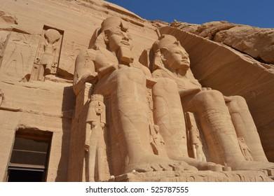 King Ramses, Abu Simbel