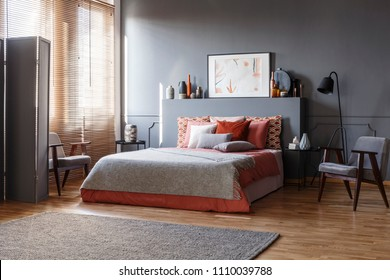 gray red bedroom Images, Stock Photos & Vectors | Shutterstock