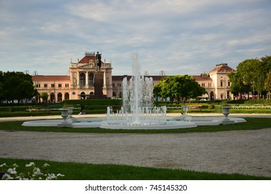 King Tomislav Square - fountain