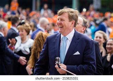 King Willem-Alexander of The Netherlands, King's Day, Amstelveen, 26/04/2014