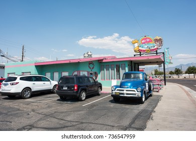 Kingman, Arizona: June 20, 2017: Mr D'z Route 66 Diner. Mr D'z Route 66 Diner is an independent restaraunt on Historic Route 66.