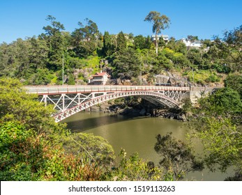 Kings Bridge is a wrought-iron bridge crossing the South Esk River at the mouth of the Cataract Gorge in Launceston, Tasmania. Construction of the bridge began in 1864.