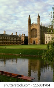 King's College Cambridge from the backs.