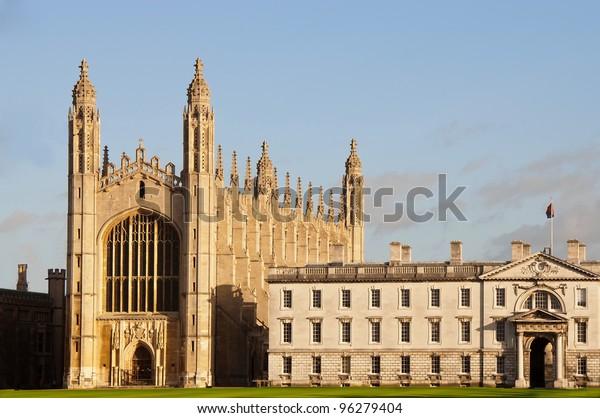 Kings College Cambridge View Chapel Stock Photo (Edit Now