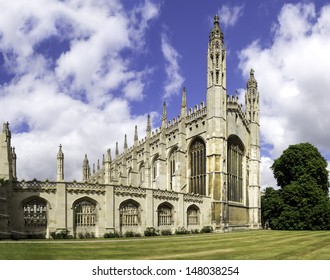 Kings college chapel Cambridge, UK