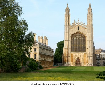 Kings' College Chapel - Cambridge University UK
