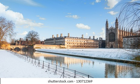 King's College seen from the River Cam, Cambridge, England