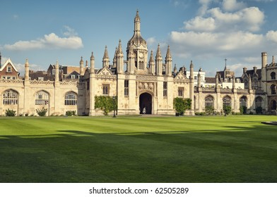 King`s College at summer time, Cambridge, UK