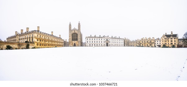 King's College winter panorama | Cambridge, UK