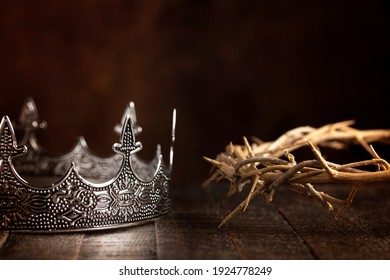 A Kings Crown and the Crown of Thorns