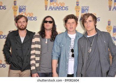 Kings of Leon at the 2009 MTV Movie Awards at Universal Studios Hollywood. May 31, 2009  Los Angeles, CA Picture: Paul Smith / Featureflash
