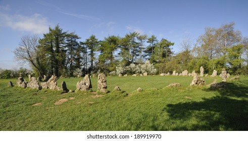 The Kings Men Neolithic Stone Circle, Rollright Stones