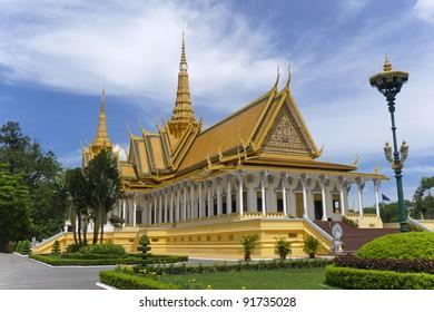 kings palace Phnom Penh Cambodia