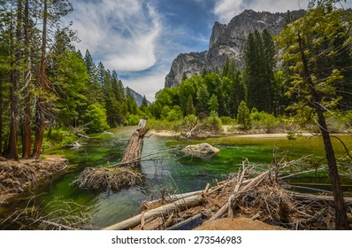Kings river in Sequoia and Kings canyon national park, California.