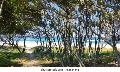 Kingscliff Beach New South Wales, northern quieter end, popular holiday destination