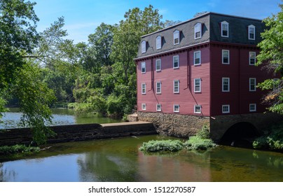 The Kingston Mill, built in 1888 to replace one built in 1755 located in Princeton, New Jersey.