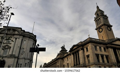 Kingston-upon-Hull Guild Hall, Government buildings East Yorkshire England 13th of November 2019