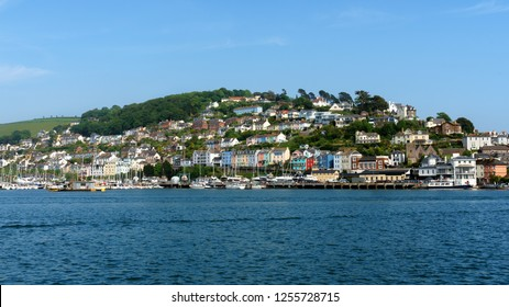 Kingswear from Dartmouth in South Devon, The United Kingdom, May 21, 2018