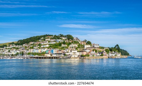 Kingswear on the Dart Estuary Viewed from Dartmouth