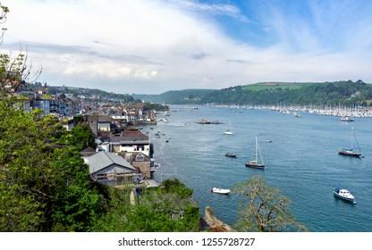 Kingswear Opposite Dartmouth on the Dart Estuary, Devon, United Kingdom, May 21, 2018